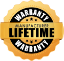 Manufacturer Lifetime Warranty