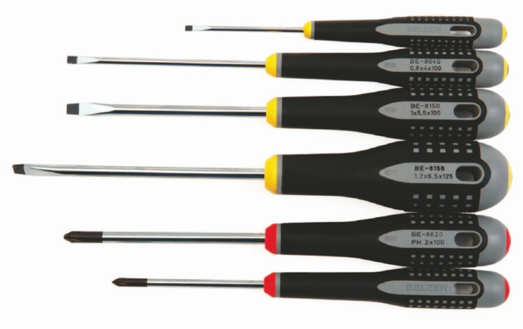 Bahco BE-9881 Mixed Screwdriver Set, 6-Piece