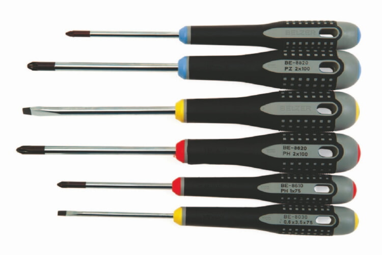 Bahco BE-9886 Mixed Screwdriver Set, 6-Piece