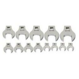 Williams 10741 12 Piece 3/8 Drive Crowfoot Wrench Set 1-3/16 To 2
