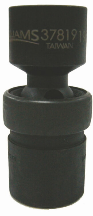 13mm Williams 37813 1//2-Inch Drive Universal Impact Sockets 6 Point