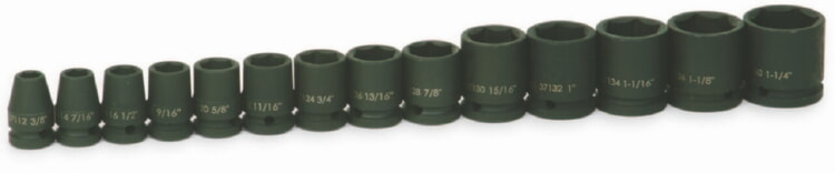 Williams JHW37904 Impact Socket Set, 1/2