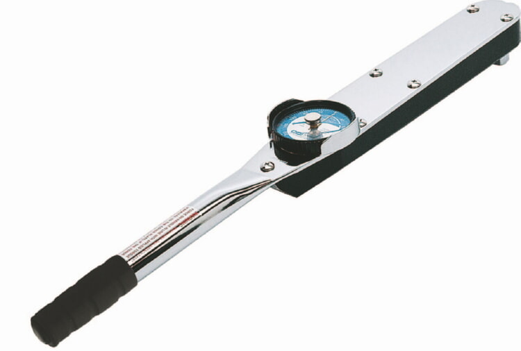 3/8 inch Drive 0-50 Ft. Lb. Single Scale Dial Torque Wrench - CDI 502LDFNSS