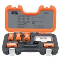 Bahco 862007 Professional Holesaw Set, 7 Piece