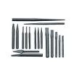 Williams PC-17 17 Piece Punch & Chisel Set(Roll)