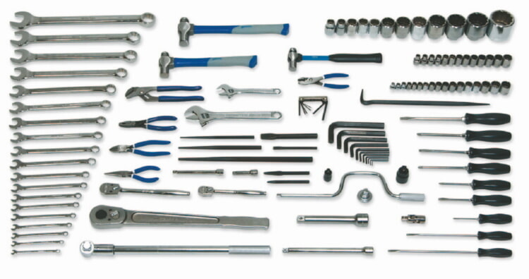 Williams MSC-118 118 Piece Metric Heavy Equipment - Tools Only