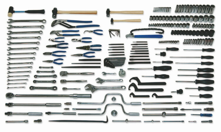 Williams MSC-225 Master Set, Metric, 225 Piece, Tools Only