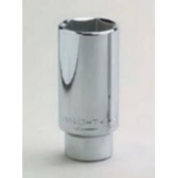Wright Tool 4512 1/2-inch Drive 3/8-inch Deep Socket 6-Point