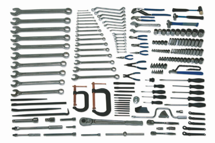 Williams WSC-172 Heavy Maintenance Service Set Tools Only - 172 Pieces