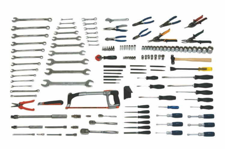 Williams WSC-173 Intermediate Maintenance Service Set Tools Only - 173 Pieces