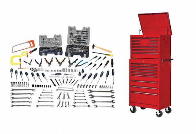 Williams WSC-231TB Maintenance Tool Set With Tool Boxes - 231 Pieces