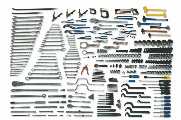 Williams WSC-352 Master Maint Service Set Tools Only - 352 Pieces