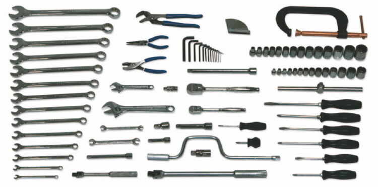 Williams WSC-88 General Industrial Repair Set Tools Only - 88 Pieces