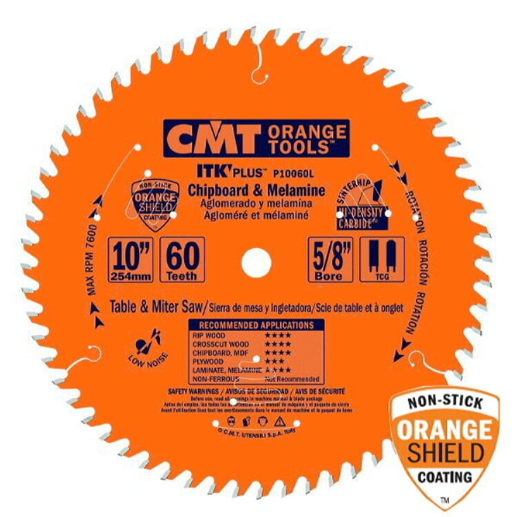 Cmt Orange Tools P10060l Itk Plus Chipboard Amp Melamine 10