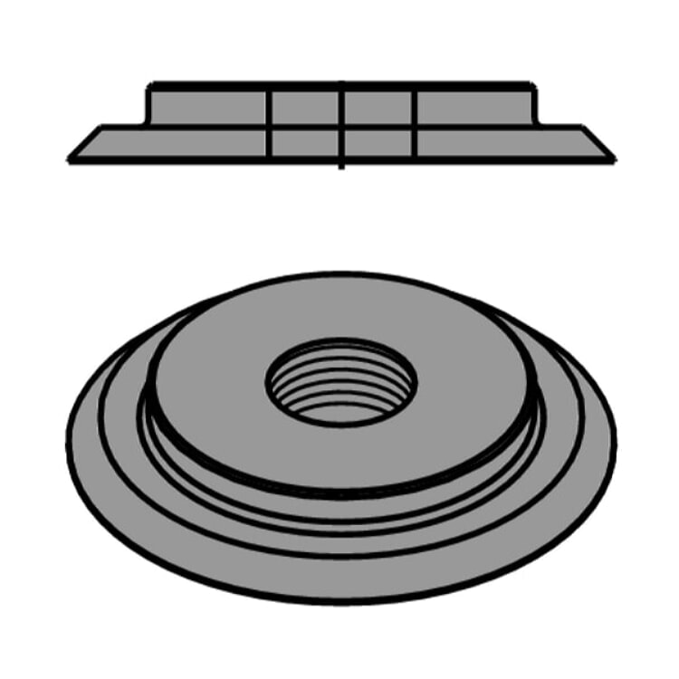 CMT Orange Tools 695 996 01 Threaded Ring M4 D=10 mm