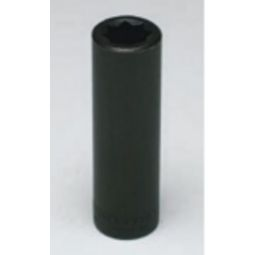 Wright Tool 4772 1/2-inch Drive 3/8-inch (Double Square) Deep Impact Socket 8-Point