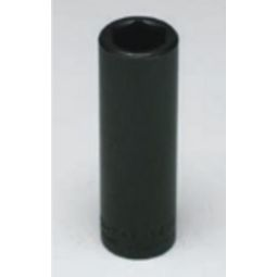 Wright Tool 49-10MM 1/2-inch Drive 10MM Deep Metric Impact Socket 6-Point