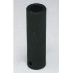 Wright Tool 4964 1/2-inch Drive 7/16-inch Deep Impact Socket 12-Point
