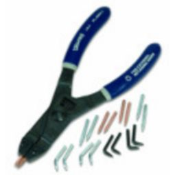 Williams PL-1600C Snap Ring Pliers & Tips Set (Internal & External)