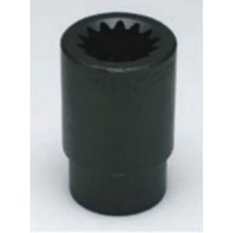 Wright Tool 5934 #5 Spline Drive 1-1/16-inch Deep Impact Socket 6-Point