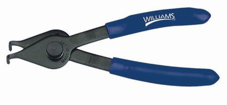 Williams PL-1625 Snap Ring Pliers - 0.047-inch, 90 degree tip