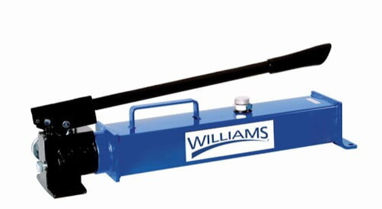 Williams 5HS2S200 2-Speed Single Acting Hand Pump 140 Cu In.