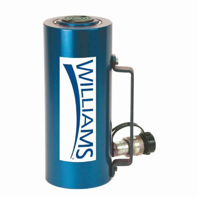 Williams 6CA50T04 50-Ton Aluminum Cylinder 4 inch Stoke