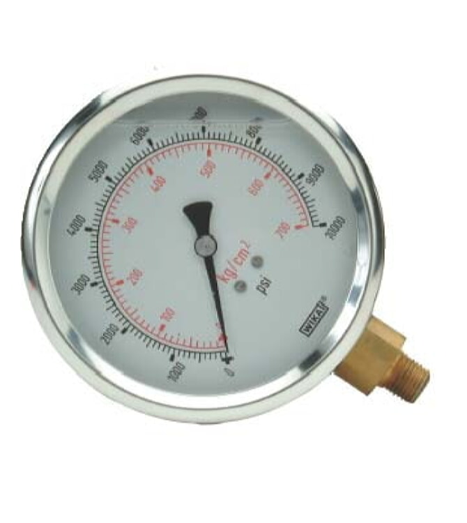 Williams 8G025W 2 1/2 inch Face Diameter Liquid Gauge