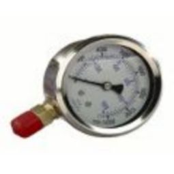 Williams 8G04W 4-inch Face Diameter Liquid Gauge 1/4'' Fitting