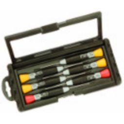 Bahco 706-1 Precision Screwdriver Set, 4 Slotted & 2 Phillips