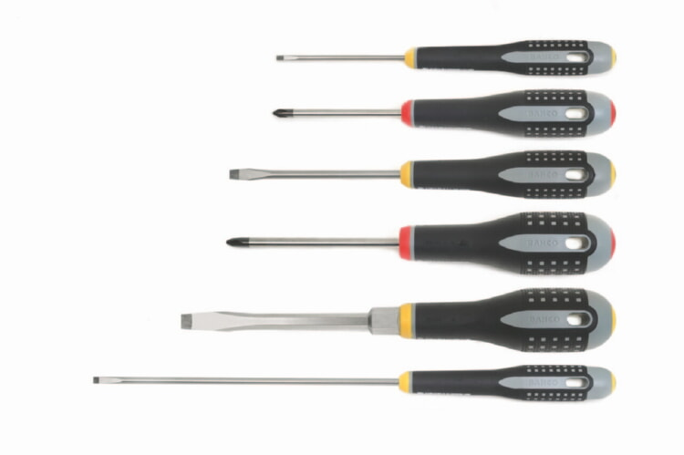 Bahco 808506 6 Piece Ergo Mixed Screwdriver Set