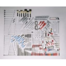 Wright 107 559-Piece Mega Fractional/Metric Master Set 1/4 inch, 3/8 inch, 1/2 inch & 3/4 inch, Tools Only