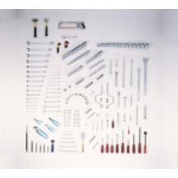 281 Pc Master Fractional Maintenance Set, Tools Only - Wright Tool 113