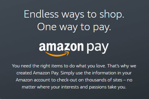 Introducing Amazon Pay