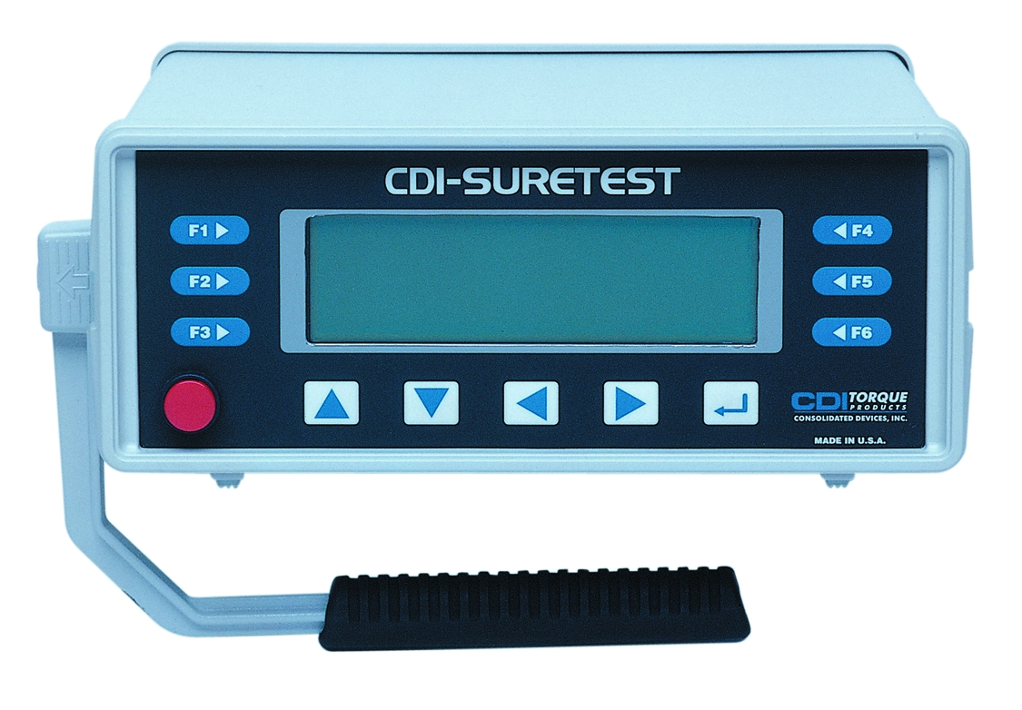 CDI 5000-ST Suretest Monitor W/Case and Cable