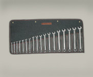 958 18 Pc. Full Polish Metric Combination Wrench Set 7mm-24mm - Wright Tool