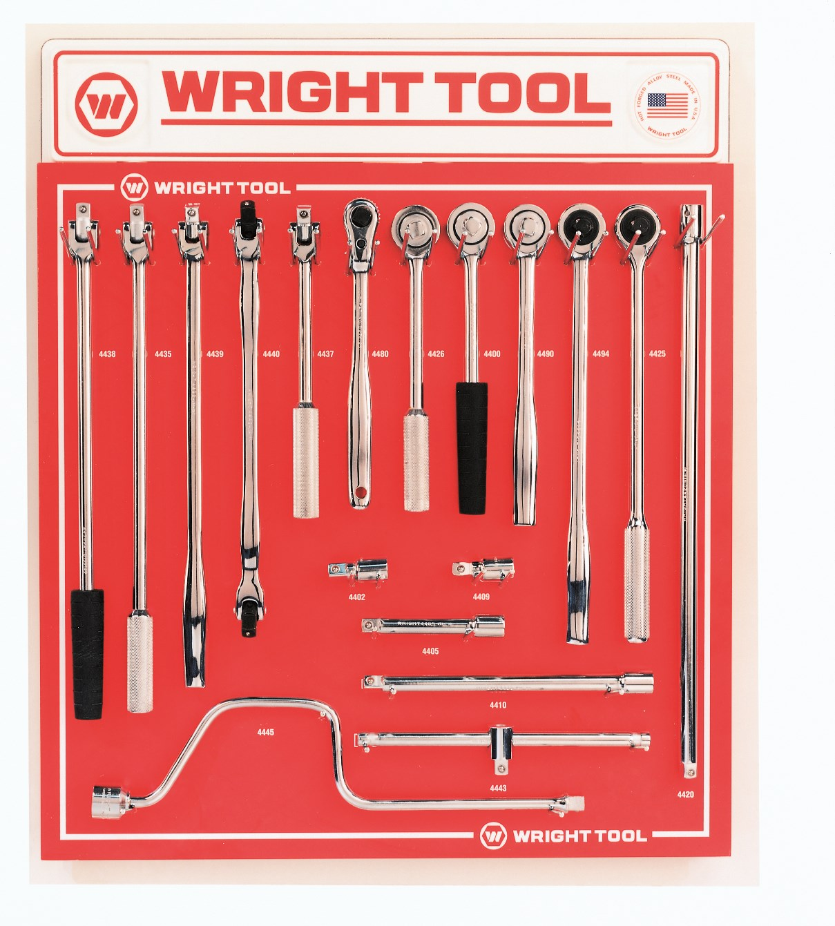 Wright Tool D946 18 Piece 1/2-inch Drive Handles & Attachments