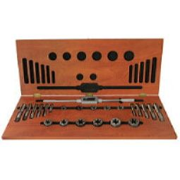 Drillco 2000H25 25 Pc Hss-Tap & Hex Die Set