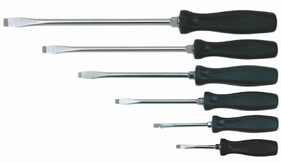 Williams 100P-6SD 6-Piece Slot Screwdriver Set