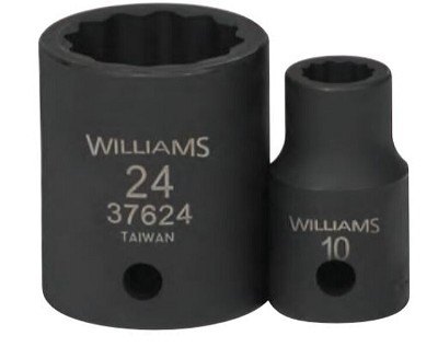 Williams JHW37925 Impact Socket Set 1/2