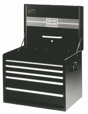 "Williams 50947B 6 Drawer 34"" Extra-Heavy Duty Roadbox Black"