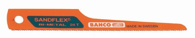 Bahco 3845-32-10P Carbody Precision-Ground Teeth 3-1/2-inch 32 TPI - 10/pack
