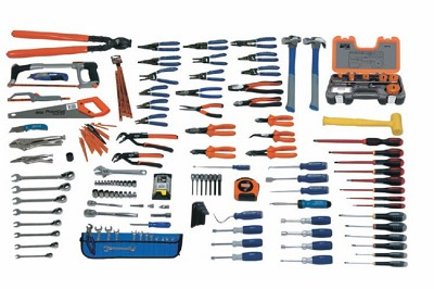 Williams WSC-167TB Electrical Maintenance Service Set With Tool Box - 167 Pieces
