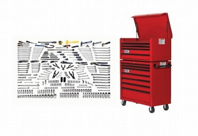Williams WSC-317TB Intermediate Technician's Tool Set With Tool Boxes 317 Pieces