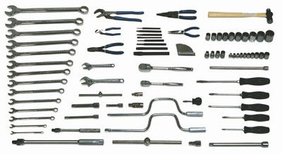Williams WSC-80 General Service Set Tools Only - 80 Pieces