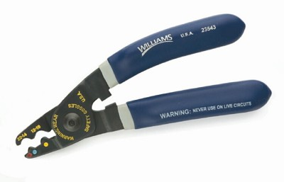 Williams 23543 5-1/2-inch Mini-Crimper Plier 10-22