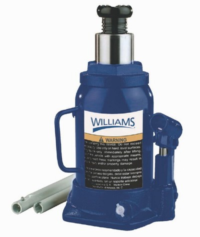Williams 3S12TV 12 Ton Value Bottle Jack Short