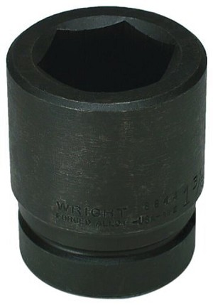 1 inch Drive 3-1/4 inch Standard Impact Socket 6 Point-8897A Wright Tools